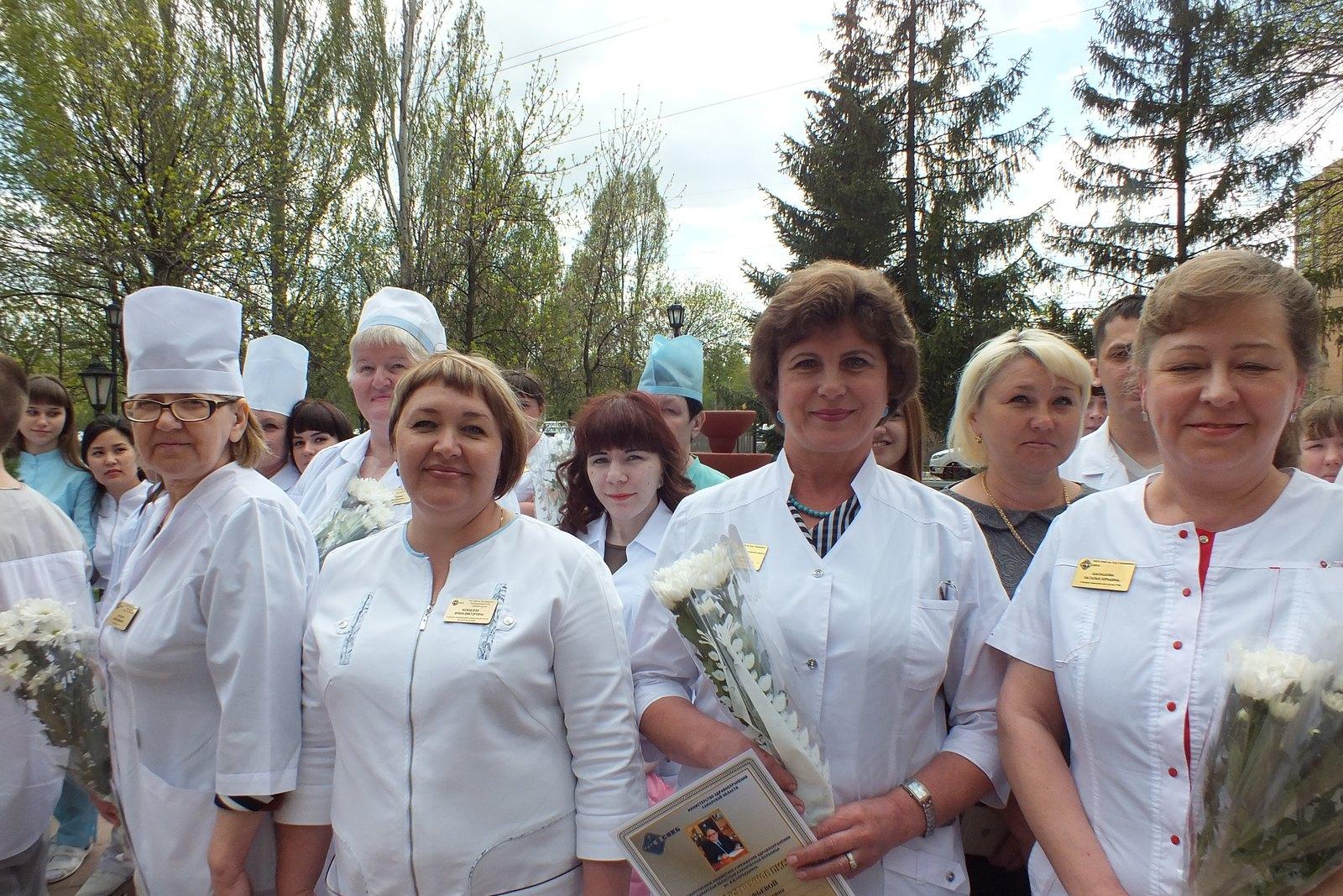 Обследование для медсестрички
